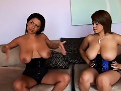 Two Busty Sluts Pleasure Black Cock
